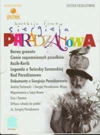 Kolekcja filmów Siergieja Paradżanowa (DVD) - okładka filmu