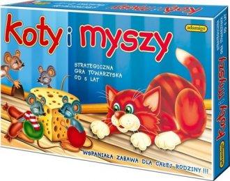 Koty i myszy. Strategiczna gra - zdjęcie zabawki, gry
