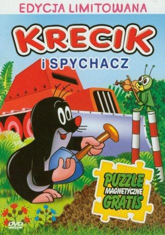 Krecik i spychacz (DVD + puzzle - okładka filmu