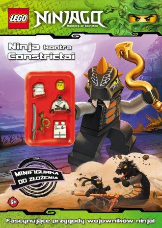 LEGO Ninjago. Ninja kontra Constrictai - okładka książki