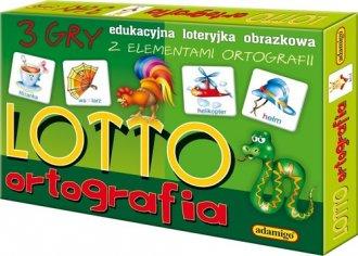 Lotto ortografia. Loteryjka edukacyjna - zdjęcie zabawki, gry