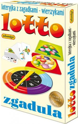 Lotto zgadula. Loteryjka obrazkowa - zdjęcie zabawki, gry