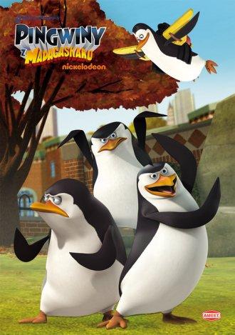 Pingwiny z Madagaskaru - okładka książki