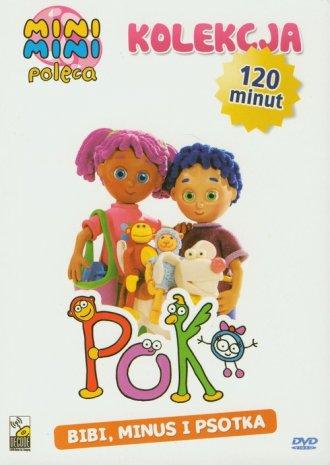 Poko Bibi Minus i Psotka (DVD) - okładka filmu