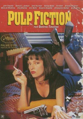 Pulp Fiction (DVD) - okładka filmu