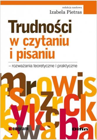 Trudności w czytaniu i pisaniu. - okładka książki