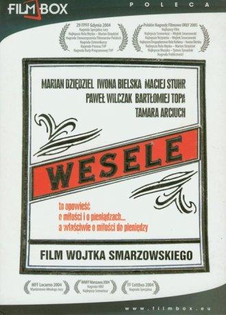 Wesele (DVD) - okładka filmu