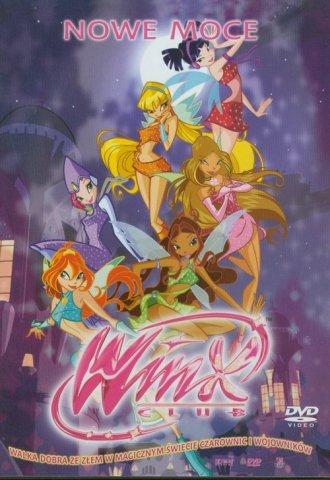 Winx Club. Nowe moce (DVD) - okładka filmu