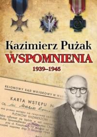 Wspomnienia 1939-1945 - Kazimierz Pużak - okładka książki