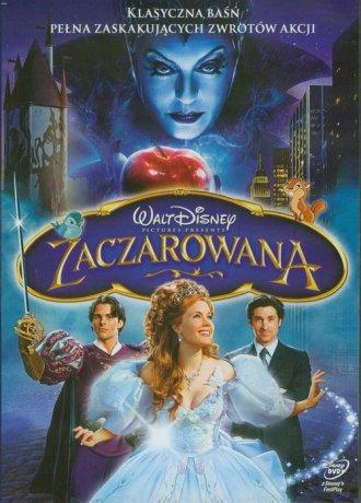 Zaczarowana (DVD) - okładka filmu