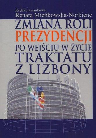 Zmiana roli prezydencji po wejściu - okładka książki