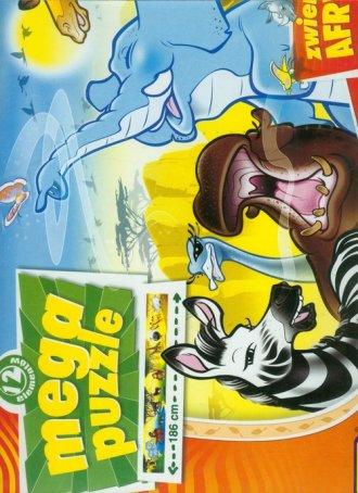 Zwierzęta Afryki (mega puzzle, - zdjęcie zabawki, gry