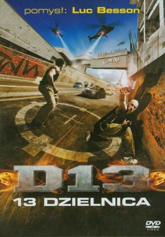 13 Dzielnica (DVD) - okładka filmu