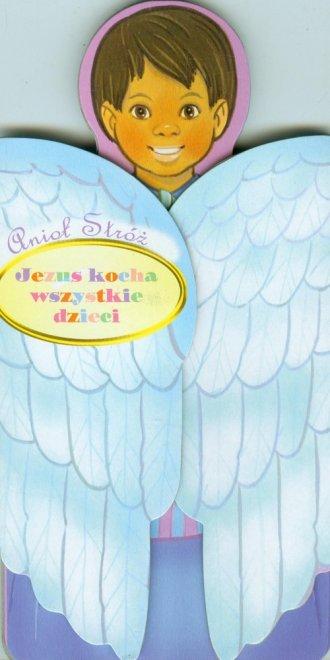 Anioł Stóż. Jezus kocha wszystkie - okładka książki