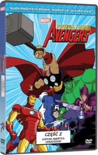 Avengers. Potęga i moc cz. 2. Kapitan Ameryka: Odrodzenie (DVD) - okładka filmu