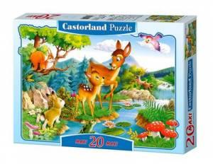 Bambi (maxi puzzle podłogowe - - zdjęcie zabawki, gry
