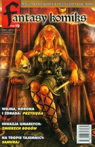 Fantasy komiks. Tom 19 - okładka książki