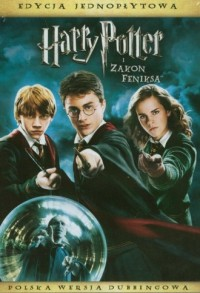 Harry Potter i Zakon Feniksa (DVD) - okładka filmu