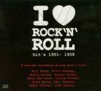 I love Rocknroll. Hits 1951-1958 (CD audio) - okładka płyty