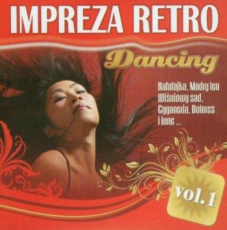 Impreza retro dancing vol. 1 (CD - okładka płyty
