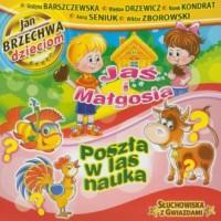 Jaś i Małgosia. Poszła w las nauka (CD audio) - pudełko audiobooku