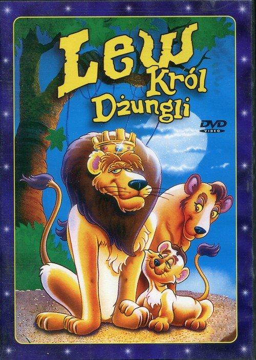Lew. Król dżungli (DVD) - okładka filmu