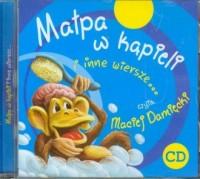 Małpa w kąpieli i inne wiersze (CD audio) - pudełko audiobooku