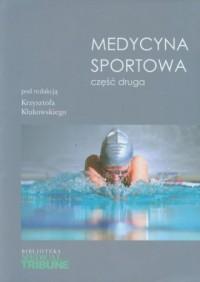 Medycyna sportowa cz. 2 - okładka książki