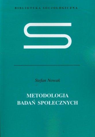 Metodologia badań społecznych - okładka książki