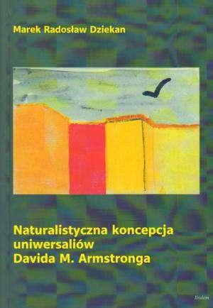 Naturalistyczna koncepcja uniwersaliów - okładka książki