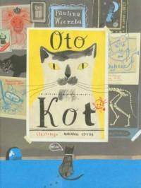 Oto kot - okładka książki