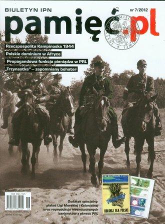 Pamięć.pl. Biuletyn IPN 7/2012 - okładka książki
