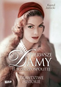 Pierwsze damy II Rzeczpospolitej. - okładka książki
