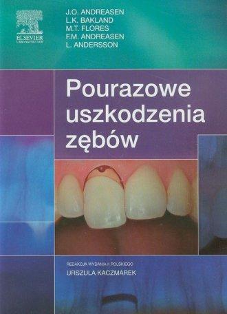 Pourazowe uszkodzenia zębów - okładka książki