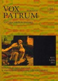 Vox Patrum. Tom 56 - okładka książki
