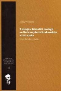 Z dziejów filozofii i teologii - okładka książki