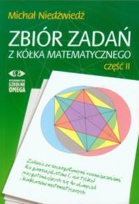 Zbiór zadań z kółka matematycznego cz. 2 - okładka podręcznika