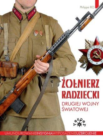 Żołnierz radziecki II wojny światowej - okładka książki