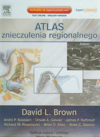 Atlas znieczulenia regionalnego - okładka książki