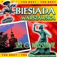 Biesiada warszawska. Sen o Warszawie (CD audio) - okładka płyty