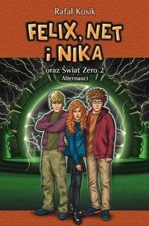 Felix Net i Nika oraz Świat Zero - okładka książki