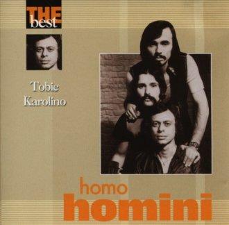 Homo Homini. Tobie Karolino (CD - okładka płyty