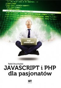 JavaScript i PHP dla pasjonatów - okładka książki