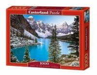 Kanadyjskie jezioro (puzzle - 1000 - zdjęcie zabawki, gry