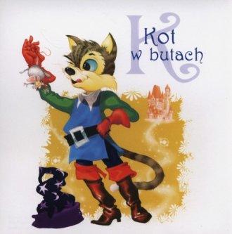 Kot w butach (CD audio) - pudełko audiobooku
