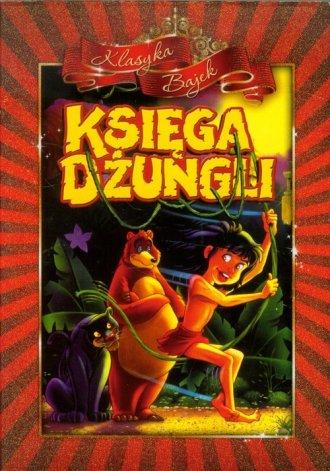 Księga dżungli (DVD) - okładka filmu