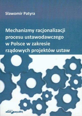 Mechanizmy racjonalizacji procesu - okładka książki