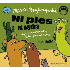 Ni pies ni wydra (CD mp3) - pudełko audiobooku