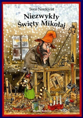 Niezwykły Święty Mikołaj - okładka książki