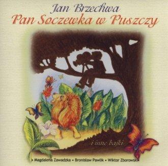 Pan Soczewka w puszczy (CD audio) - pudełko audiobooku